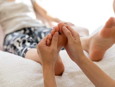 Could the answer to your problems   be in your feet?