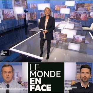 Le Monde en Face - Marina Carrère d'Encausse - Boris Charpentier et M. Bignand