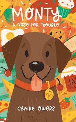 Monty a Nose for Trouble, children's chapter book