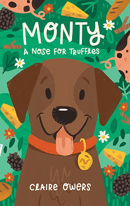 Monty a Nose for Truffles, children's chapter book