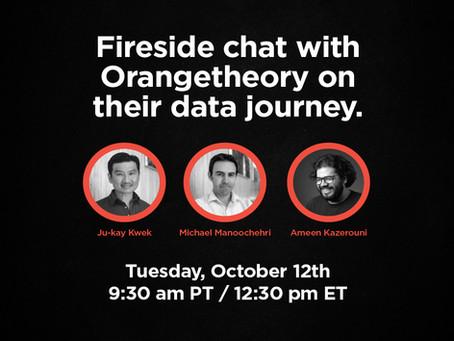 A fireside chat with Ameen Kazerouni on Orangetheory's data journey