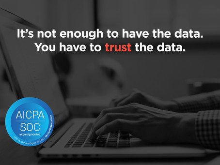 Why we have SOC-1 compliance, and why it matters for your data