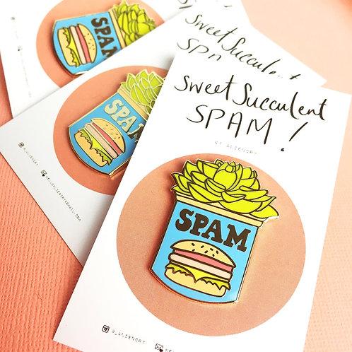 SWEET SUCCULENT SP*M Lapel Pin