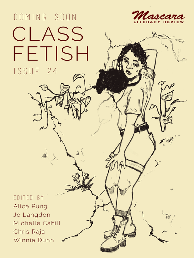 Mascara Literary Review Issue 24 'Class Fetish', promotional image