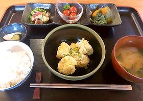 はも天ぷら定食