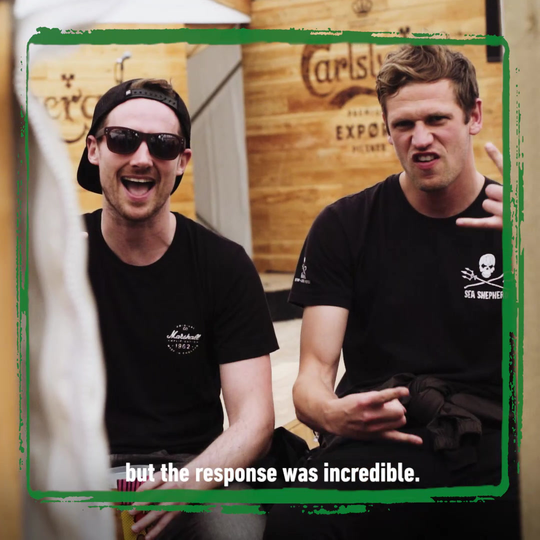 Hope Kemp | Live Nation x Carlsberg | Creative Campaigns