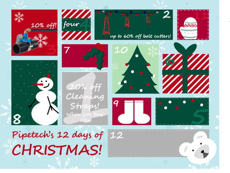On the 3rd day of Christmas, Pipetech gave to me...