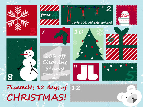 Pipetech's 12 Days of Christmas!