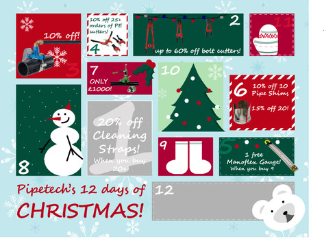 On the 7th day of Christmas, Pipetech gave to me...