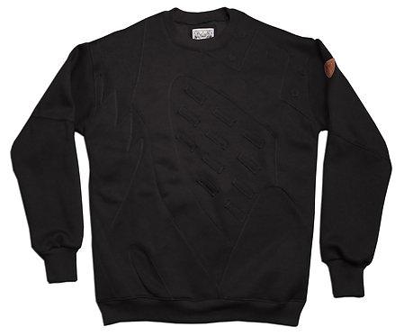 OG Black Metallic Silver 5's Sweatshirt