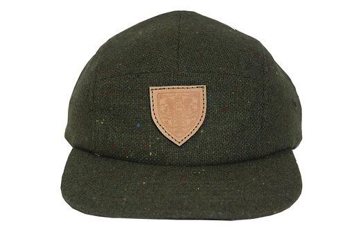 Green Tweed Hat