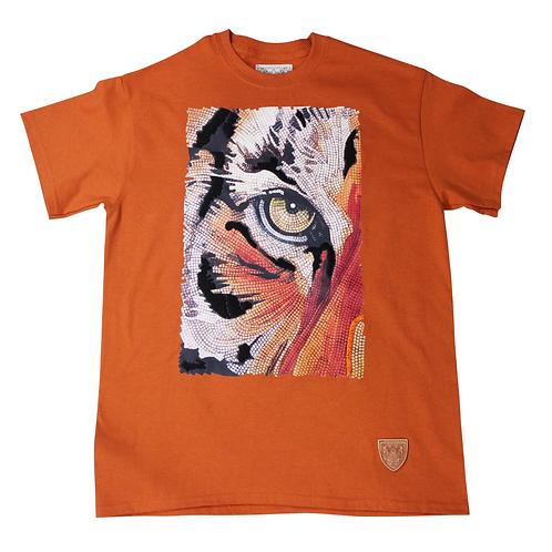 Animal Instinct Tee Shirt Rust