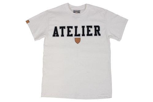Atelier Tee Shirt w/t Black Twill
