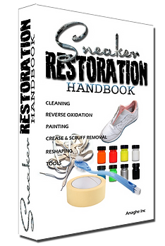 Sneaker restoration handbook the book