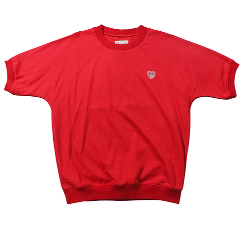 Sailor Short Sleeve Sweatshirt Red
