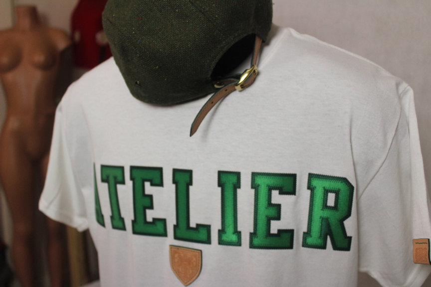 Anaghe Atelier hat and tee shirt