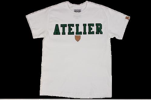 Atelier Tee Shirt w/t Green Twill