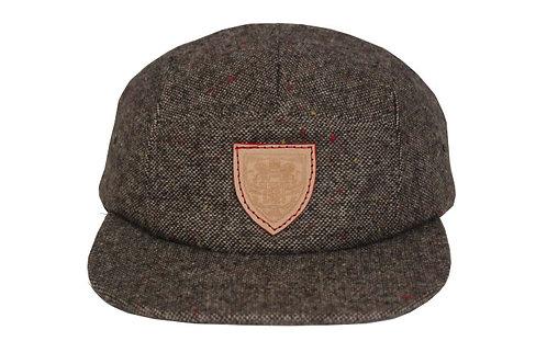 Brown Tweed Hat