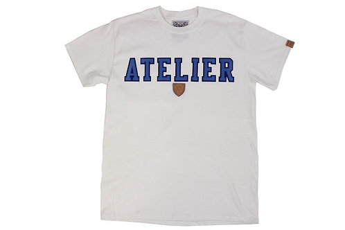 Atelier Tee Shirt w/t Sky Blue Twill