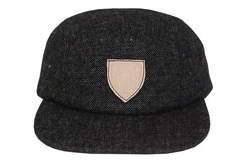 Black Tweed Hat