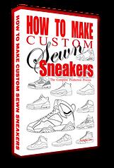 How to make custom sewn sneakers the book