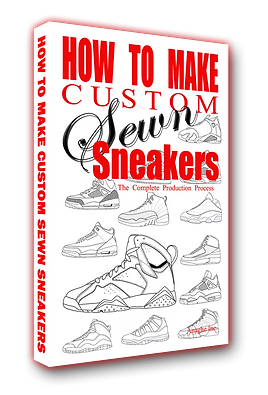 How to make custom sewn sneakers the book