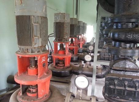 Raw Sewage pumping station at Kasarwadi, In Pimpri  Chinchwad Municipal Corporation.