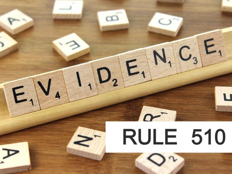 The Woodlands Texas Criminal Defense Attorney - Texas Rules of Evidence Series RULE 510