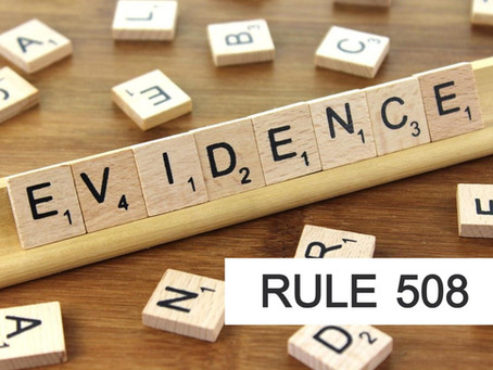 Woodlands Criminal Defense Attorney - Texas Rules of Evidence Series RULE 508