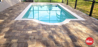 Pavers on Pool Deck