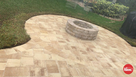 Cream/Beige patio