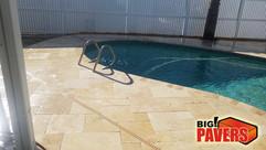 Travertine on Pool Area