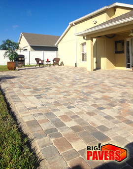 Pavers on Patio