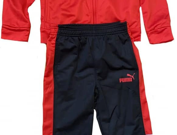 Red Hot Puma Sweat Suit