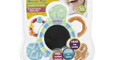 Nuby Look at Me Mirror Toy & Teether