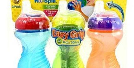 Nuby 3 Pack Easy Grip Bottles