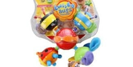 Nuby Twisty Bugz Teether Toy