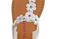 Frosted Snowflake Baby Girl Sandals