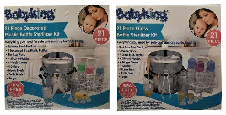 21 Piece Bottle Sterilizer Kit