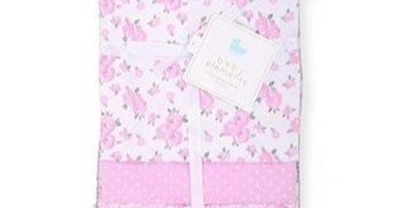 Floral 4 Pack Receiving Blankets