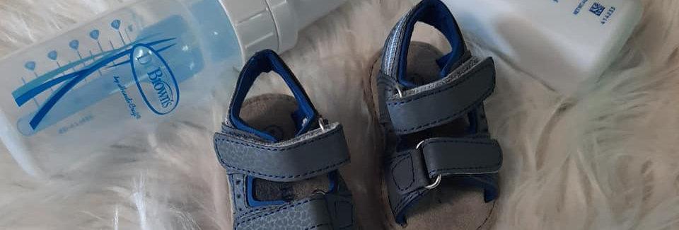 Blue Ocean Infant Sandals