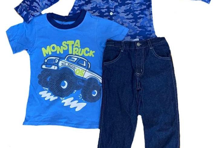 Monsta Truck 3 Piece Set