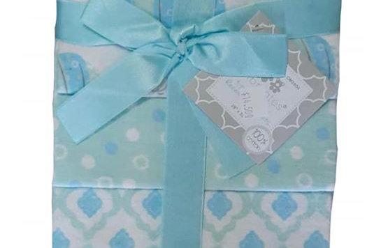 Elly 4 Pack Recieving Blanket