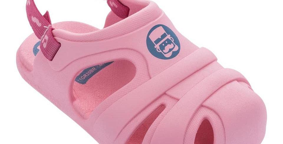 Toddler's Pink Crocs