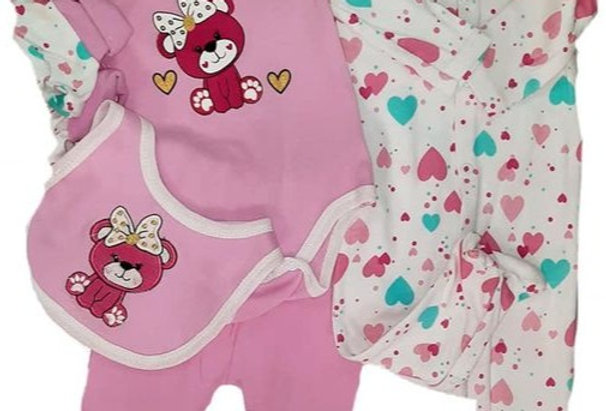 Lovely Beary  7 Piece Set (kbw)