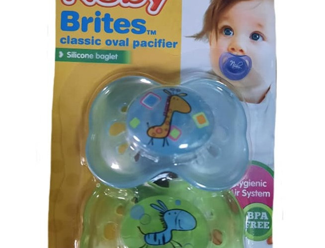 2 Pack Pacifier Set