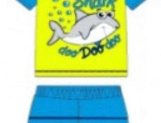 Neon Baby Shark Swimsuit