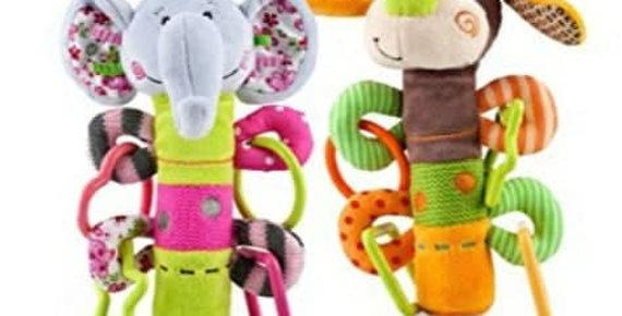 Nuby Squeeze & Squeak Teething Toy
