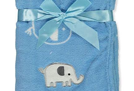 Elephant Plush Blanket