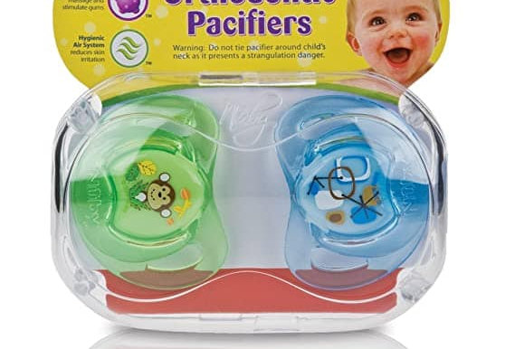 Nuby Pack of 2 Pacifier Set